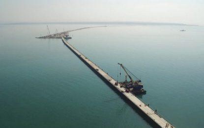 САЩ наложиха санкции срещу строителите на моста в Крим