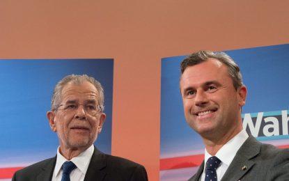 Австрия гласува пак за президент в края на годината