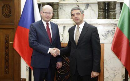 Чехия подкрепя България за влизане в Шенген