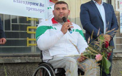 В спорта няма здрави и инвалиди. Има медали