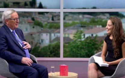 """YouTube """"извади зъбите"""" на видеоинтервю с Юнкер"""