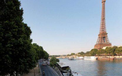 Крайбрежната на Париж става пешеходна