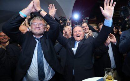 Поражение за Меркел и пробив за крайнодесните в Берлин