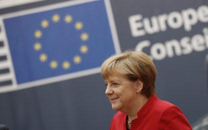 Партньорите на Меркел я подкрепят за четвърти мандат