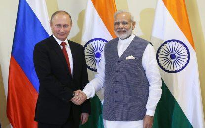 Русия ще достави на индийската армия зенитни системи, фрегати и хеликоптери