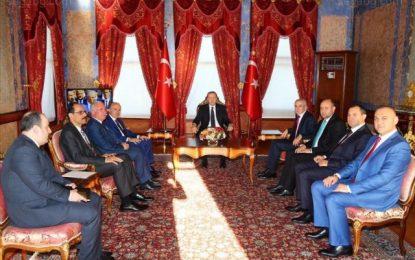 Делегация на ДОСТ при Ердоган