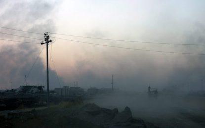 """""""Ислямска държава"""" обгази стотици край Мосул"""