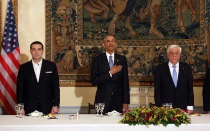 Обама се застъпи за облекчаване на дълга на Гърция