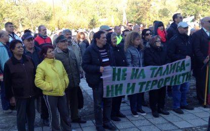 Над 2000 на митинг-концерт срещу бежанците в Бояново