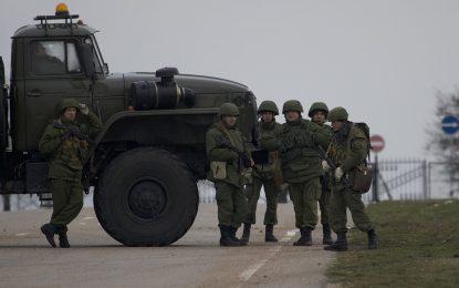 Русия трупа военна мощ в Крим