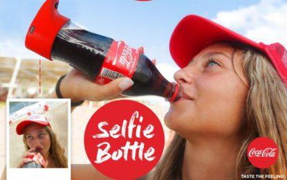 Coca-Cola пусна бутилка за селфи
