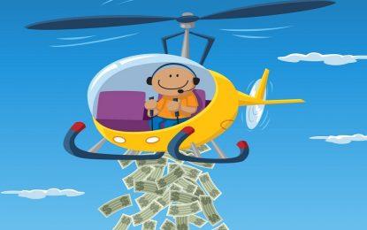 """Край на остеритета, иде десетилетието на """"пари от хеликоптер"""""""