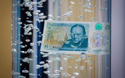 Вегани беснеят срещу новата банкнота от £5