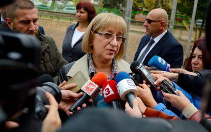 Цачева обвини Радев за подкрепата на ДПС