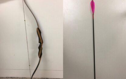 Австралиец прониза обирджия със стрела в задните части
