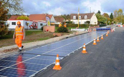 2017: Пътища произвеждат електричество