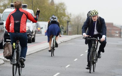 A някои карат колело