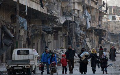 Русия обяви, че над 8000 души са евакуирани от Алепо