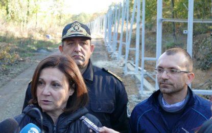 МВР се забърза да усвои €160 млн. за границата