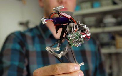 Скоклив робот може да спасява хора от срутени сгради