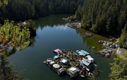 На плаваща къща в Залива на свободата