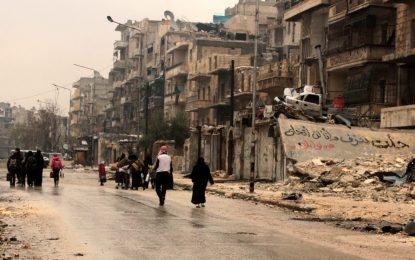Евакуацията в Алепо е започнала, твърди Русия
