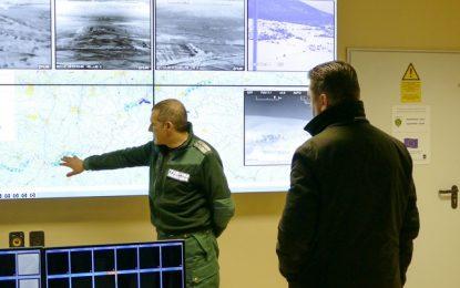 Наследникът на Бъчварова инспектира границата