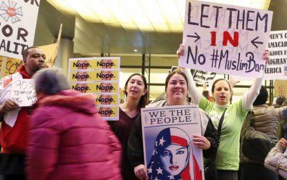 Протести по летища срещу указа на Тръмп