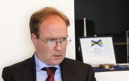 Британският посланик в Брюксел се оттегли