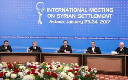 Русия, Иран и Турция обещаха мир в Сирия