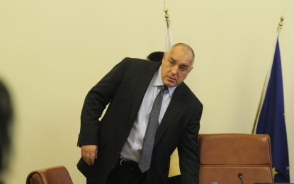 БСП страхува народа с язовири, заяви Борисов