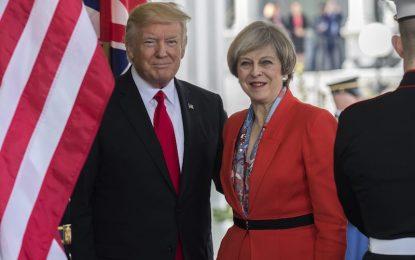 Тръмп и Мей потвърдиха ангажимента към НАТО