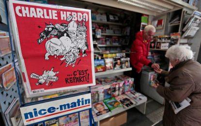 Италия дава на съд Charlie Hebdo заради карикатура