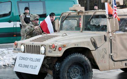 Източна Европа посреща американските танкове