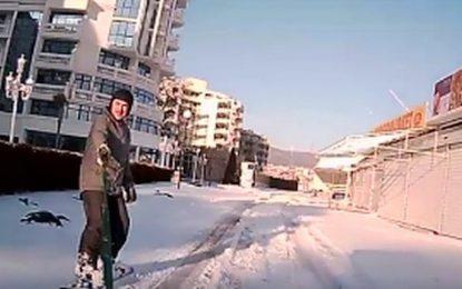 Руснак направи от Слънчев бряг Банско (видео)