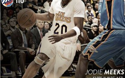 """Избрано от НБА: """"Лейкърс"""" победиха """"Тъндър"""" в уникален мач на Джоди Мийкс"""