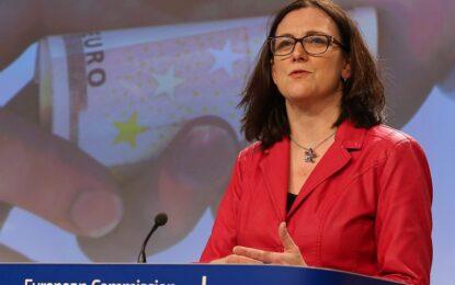 Сесилия Малмстрьом ще посети България на 24 и 25 март