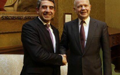 Плевнелиев и Хейг отварят нови врати за бизнеса и инвестициите у нас