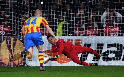 """""""Лудогорец"""" изпусна шансовете си срещу """"Валенсия"""""""