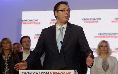Управляващите разгромиха опозицията на изборите в Сърбия