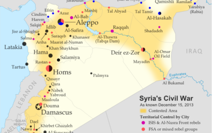 Три години сирийски конфликт: кой какво контролира