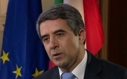 Плевнелиев призова България да побърза за еврозоната