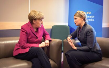 Берлин се обяви срещу заканата на Тимошенко да избие руснаците в Украйна