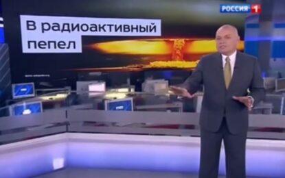 Руски топжурналист избухна с ядрени заплахи срещу САЩ