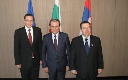 Среща в Русе между премиерите на България, Сърбия и Румъния