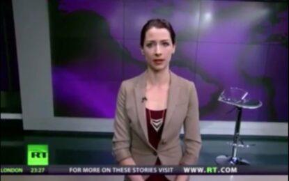 Водеща избухна в ефир срещу руската инвазия в Крим