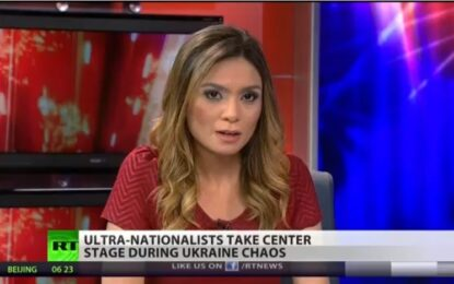 Водеща в Russia Today обяви в ефир, че напуска