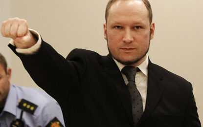Изчезна стенограмата от разпита на масовия убиец Брайвик