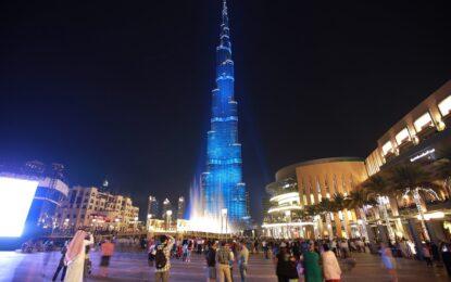 Скок от най-високата сграда в света