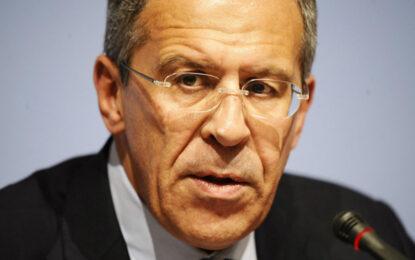Лавров пак втвърди тона към Киев
